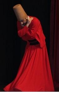 Renkli Semazen Kırmızı